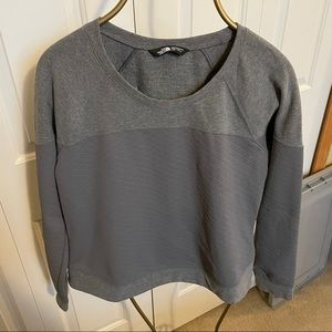 North face size L cropped quilted sweatshirt